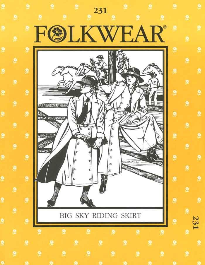Big Sky Riding Skirt - #231