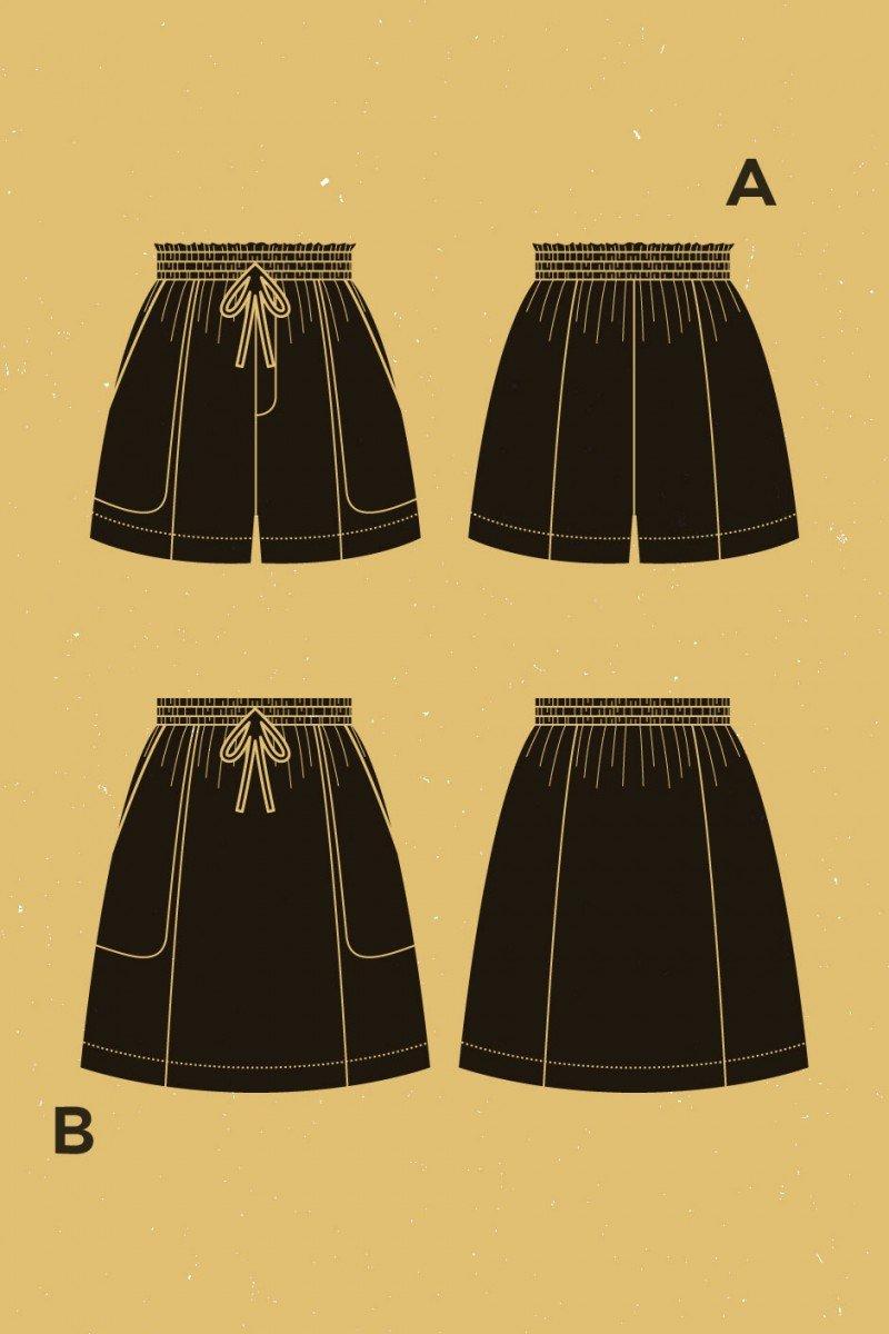 Goji Shorts and Skirt