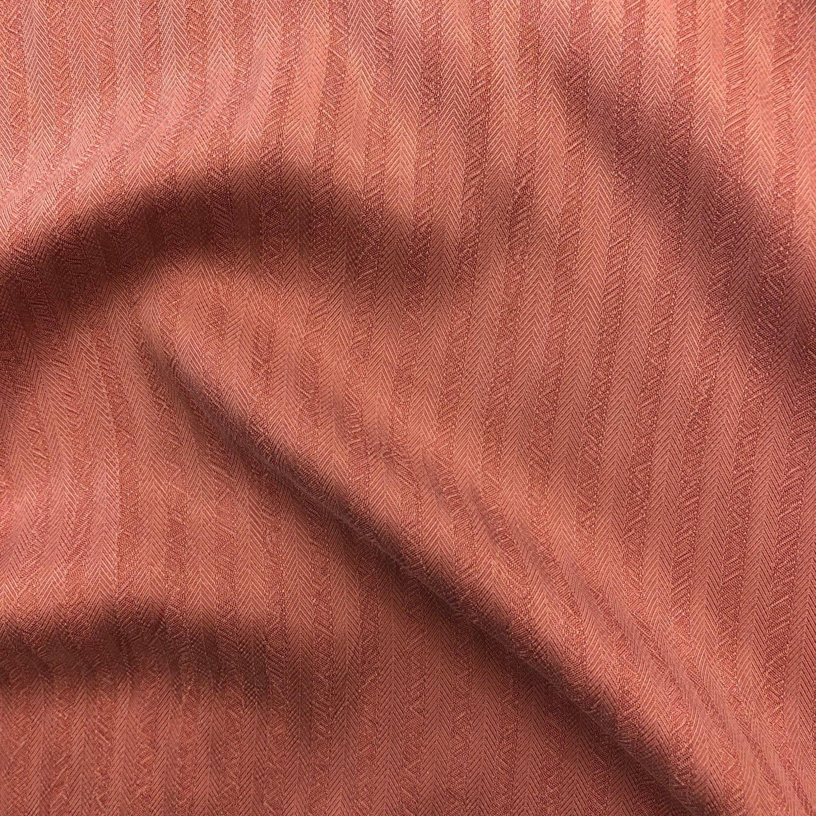 Textured 100% Rayon - Rose Stripe