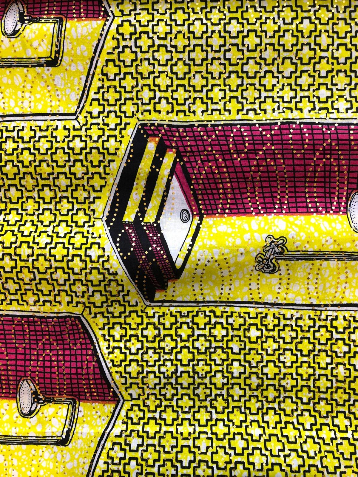 African Wax Print - Shower