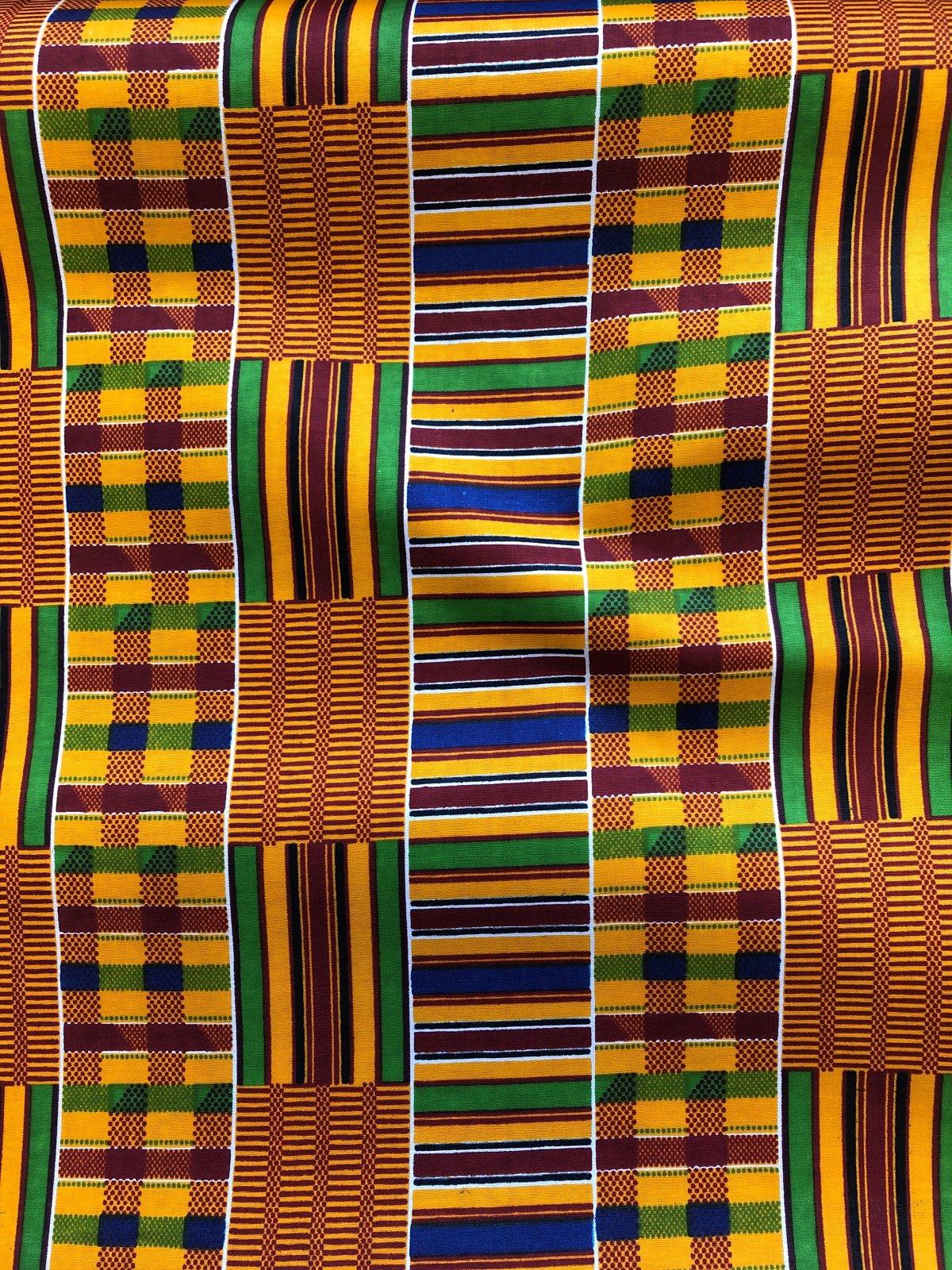 African Wax Print - Kente