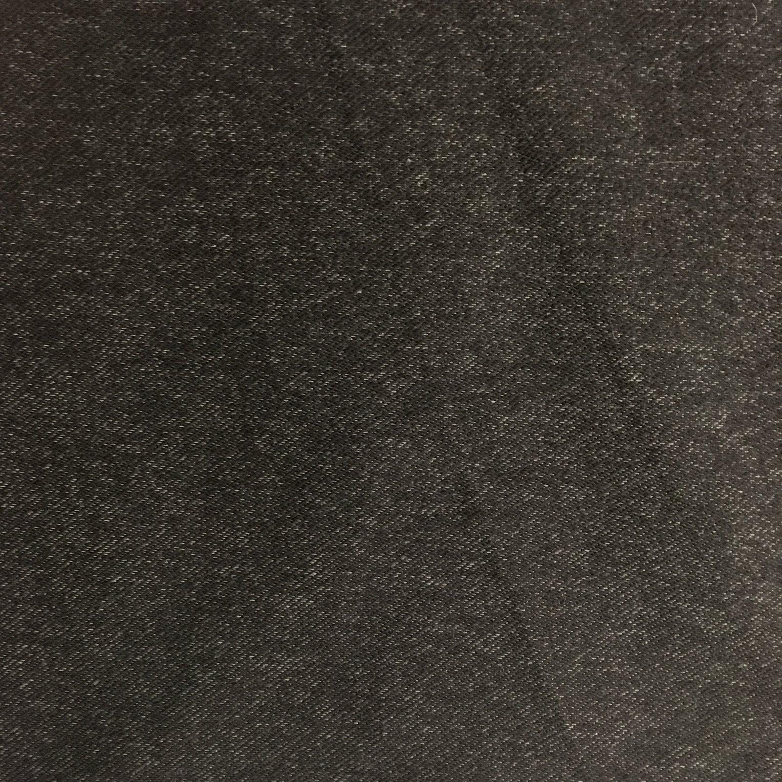 12oz Organic Cotton Denim Knit - Black