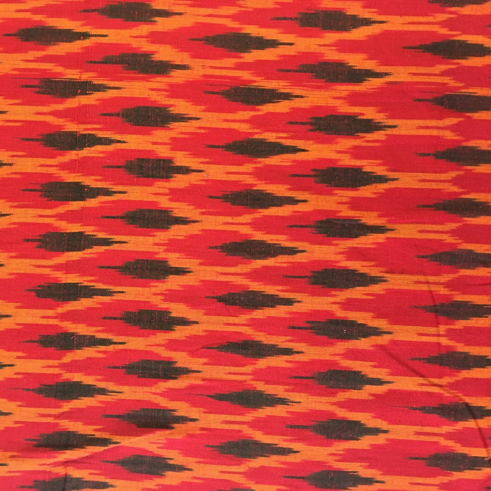 Flame Ikat - Red/Black
