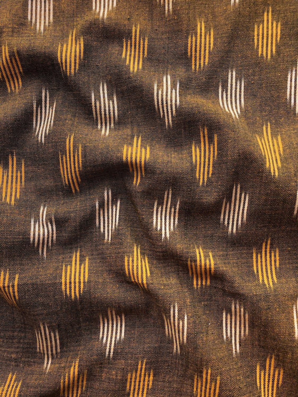 Arrow Spot Ikat - Golden