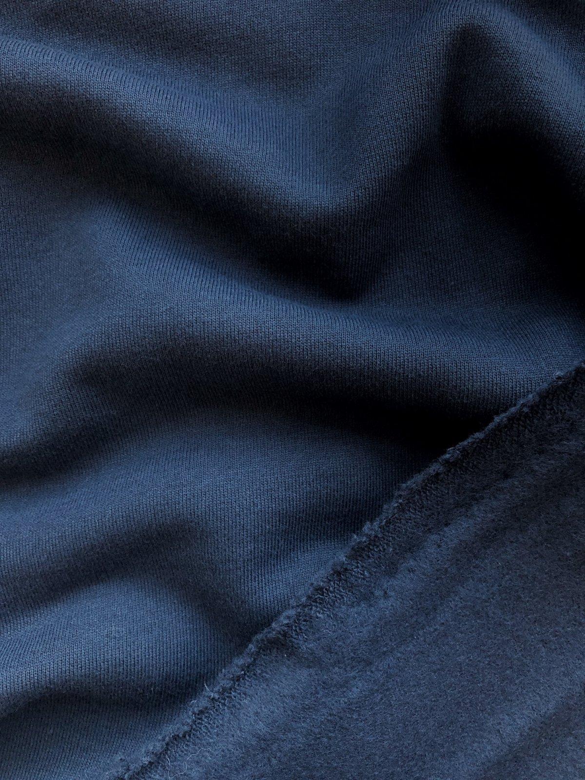 Birch Fabrics - Organic Sweatshirt Fleece - Dusk
