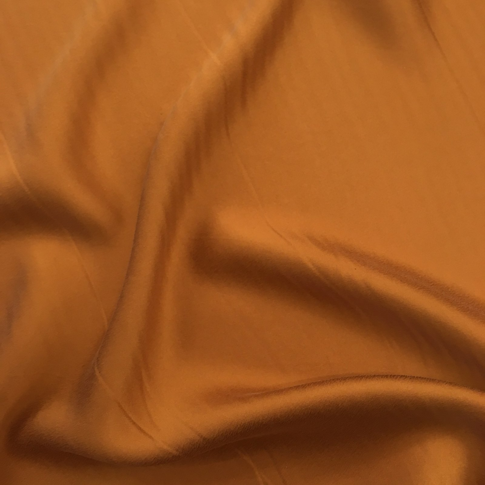 Sueded Silk Charmeuse - Copper