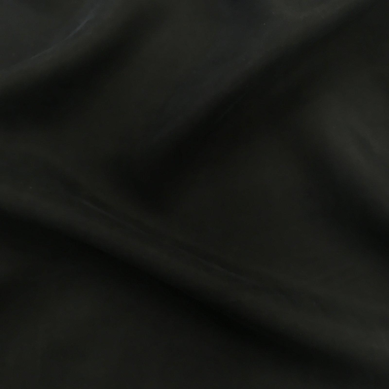 Cupro/Rayon Twill - Black