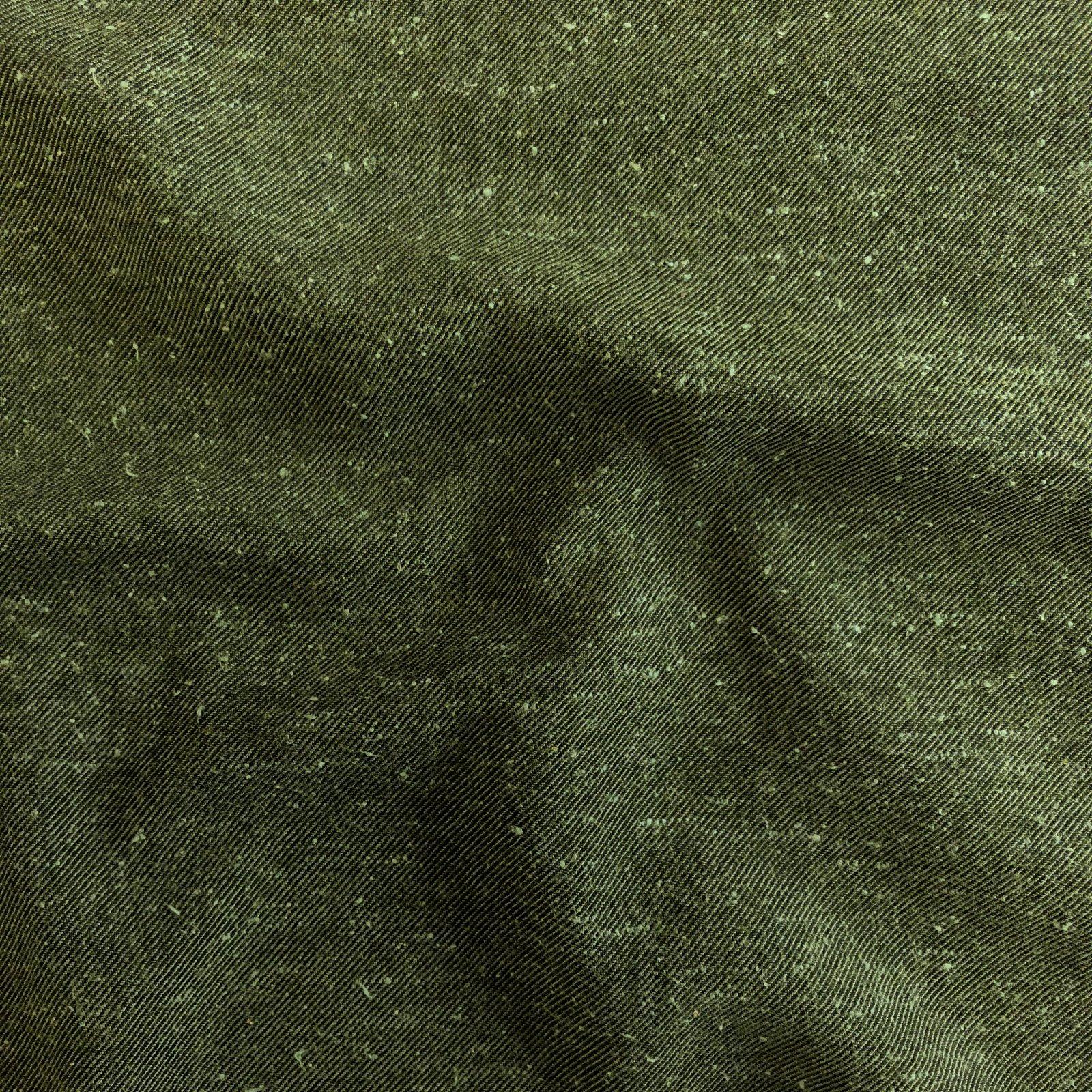 Japanese Yarn Dyed Twill - Seaweed