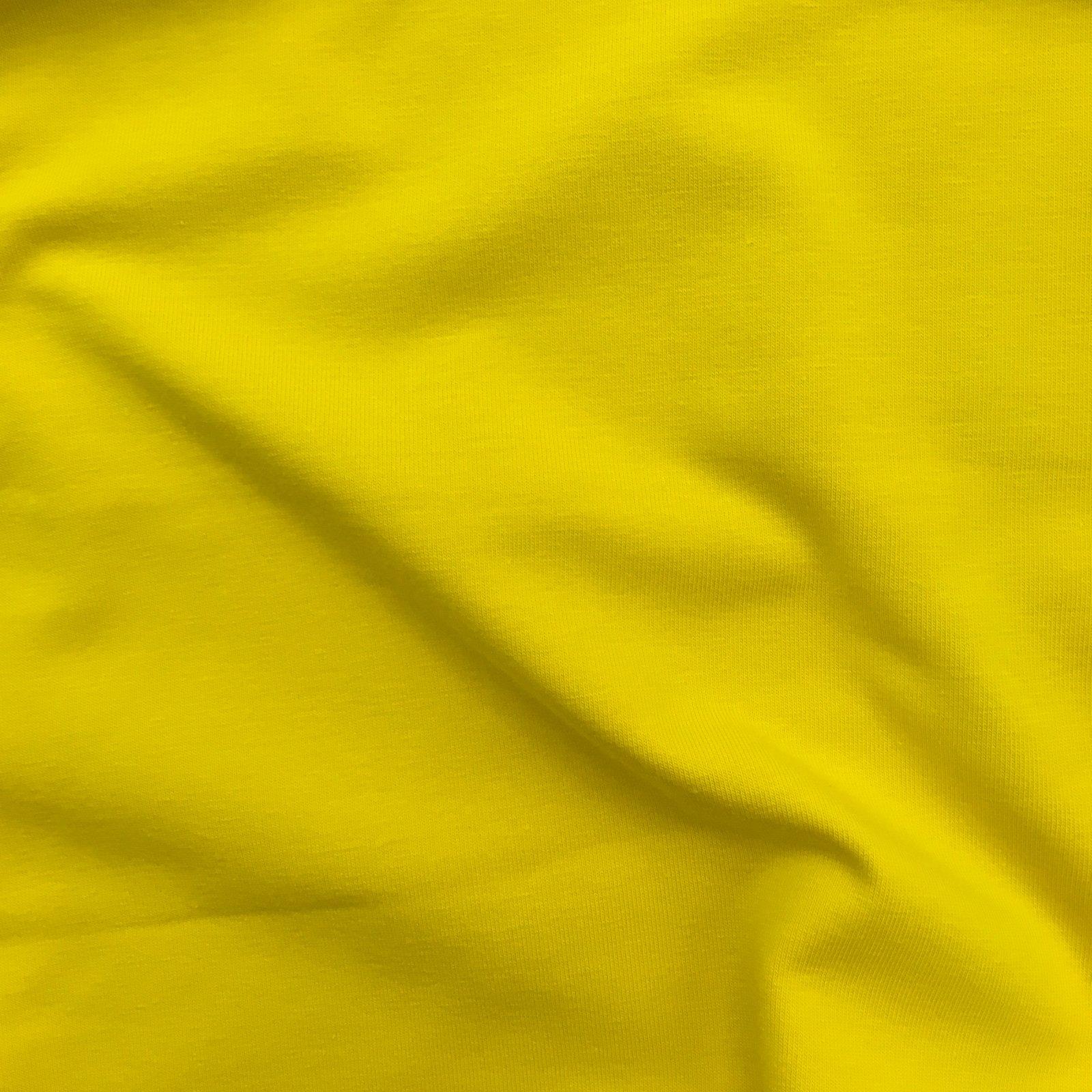 Cotton/Spandex Jersey - Sunflower