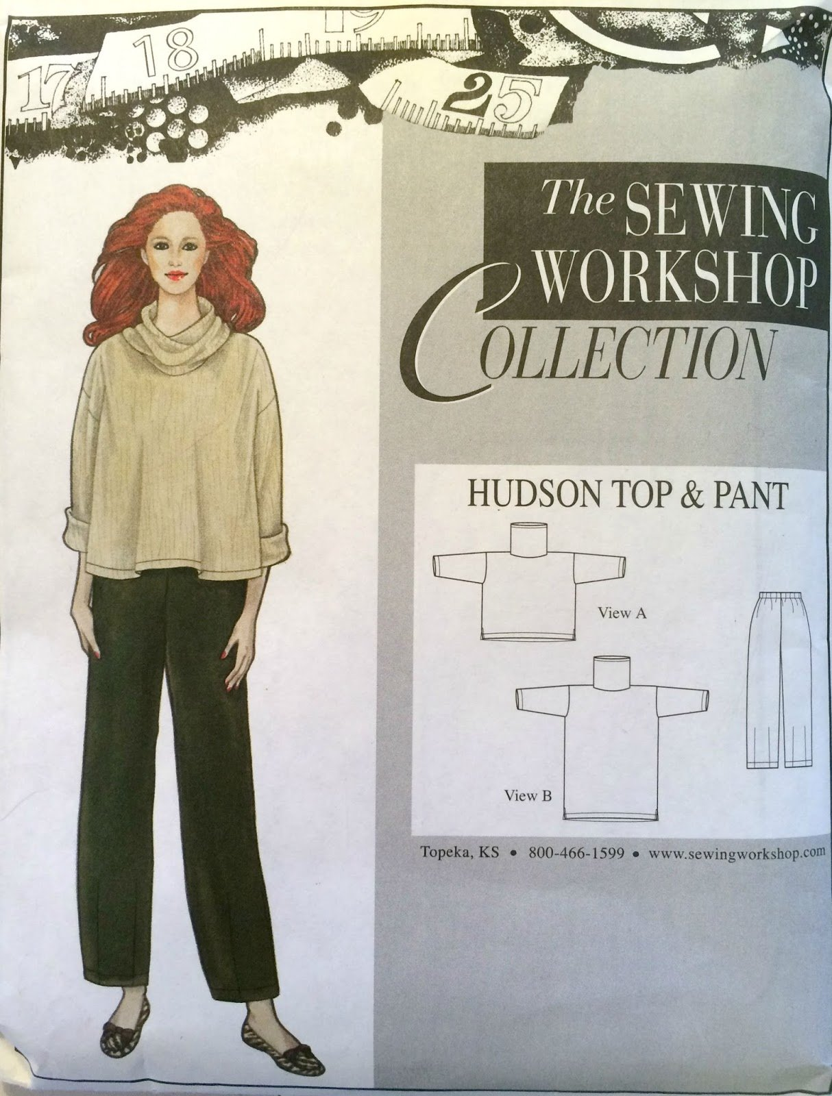 Hudson Top and Pant Pattern - Sewing Workshop