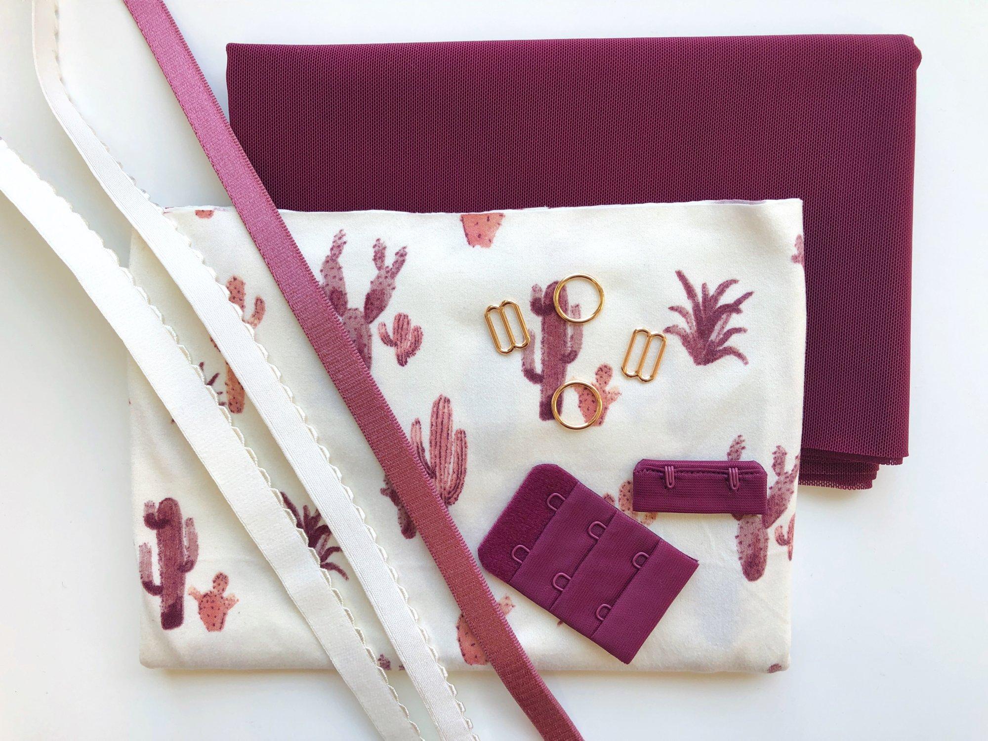 Painted Desert Soft Bra Kit - Wine