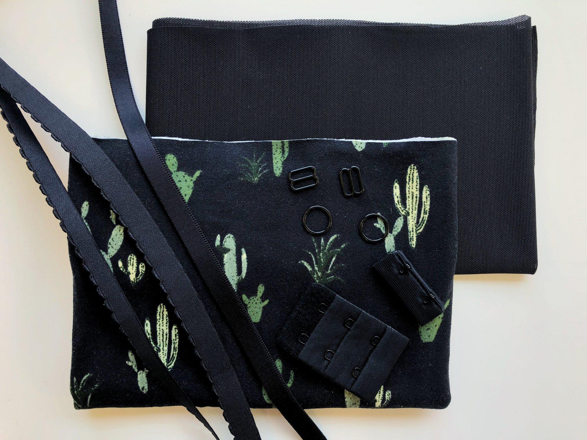 Painted Desert Soft Bra Kit - Black
