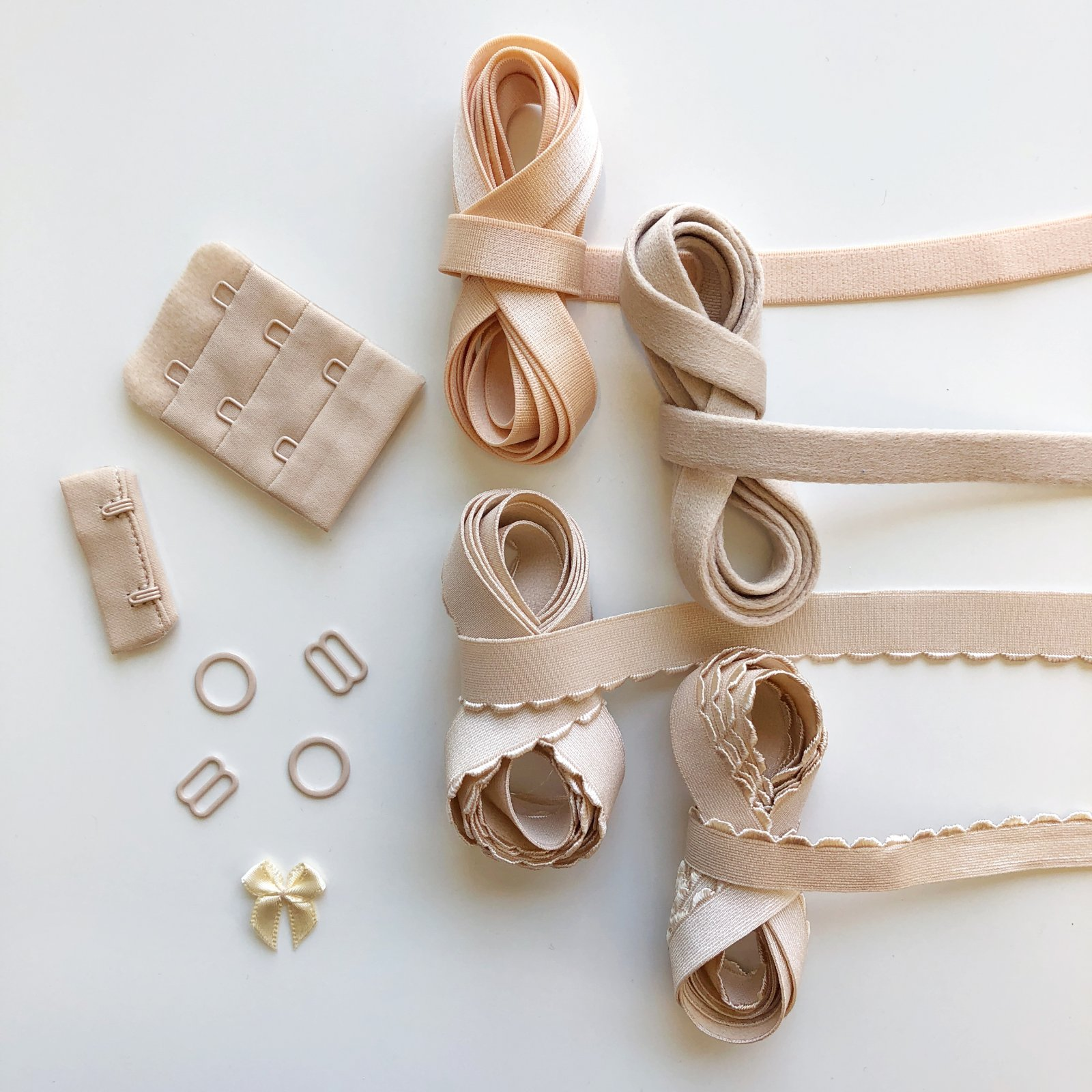 Bra Findings Kit - Beige