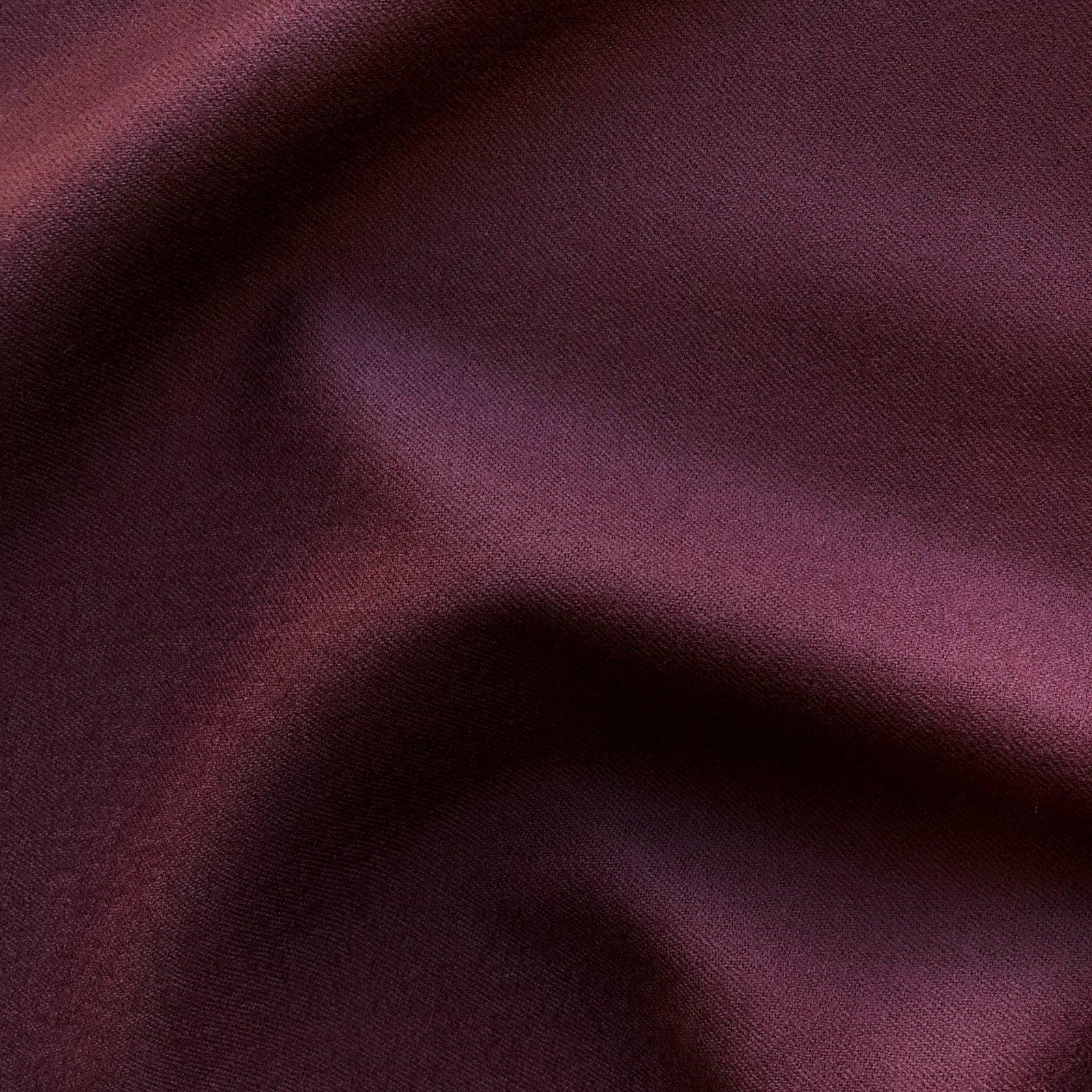 Italian Wool Gabardine - Burgundy