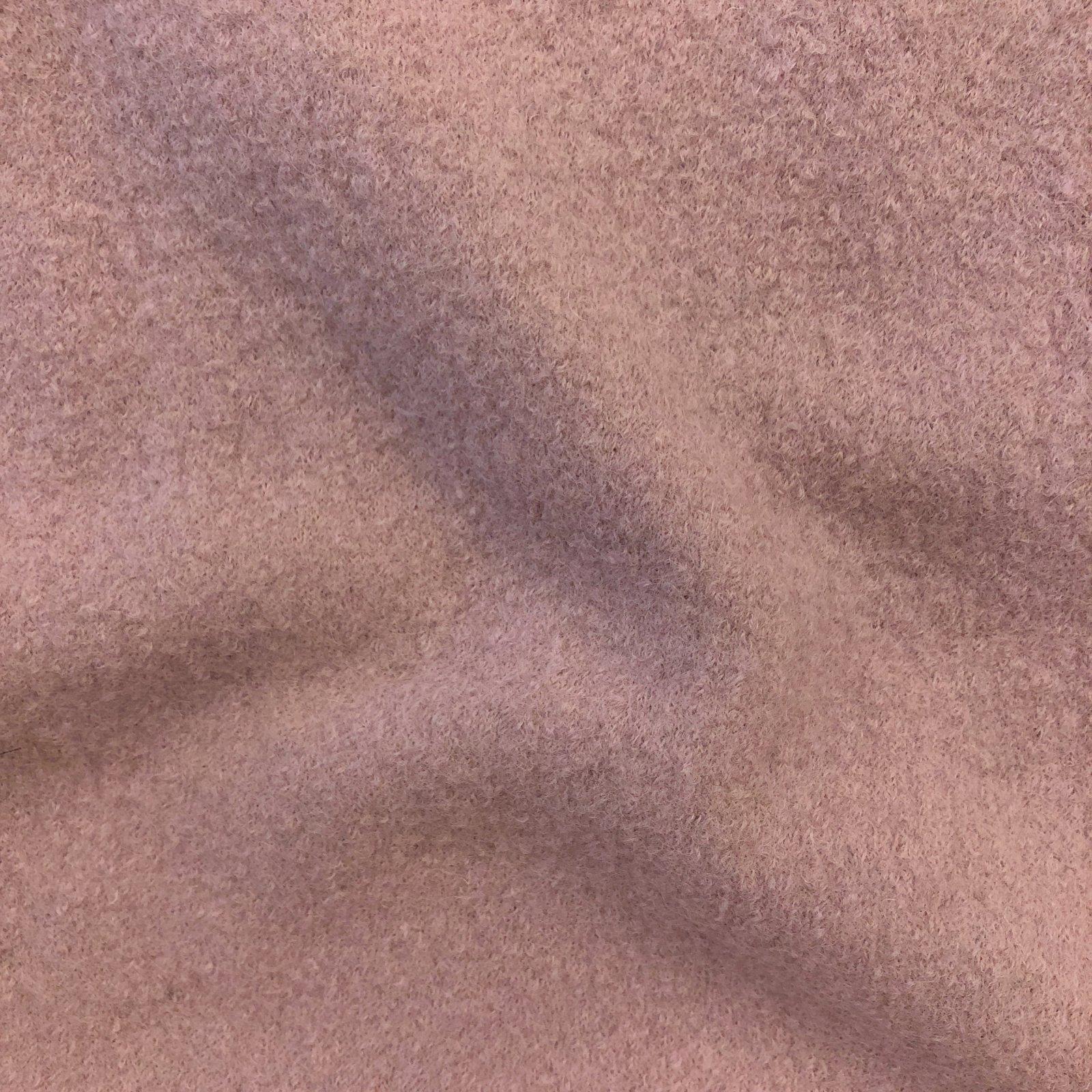 Boiled Wool - Blush Pink