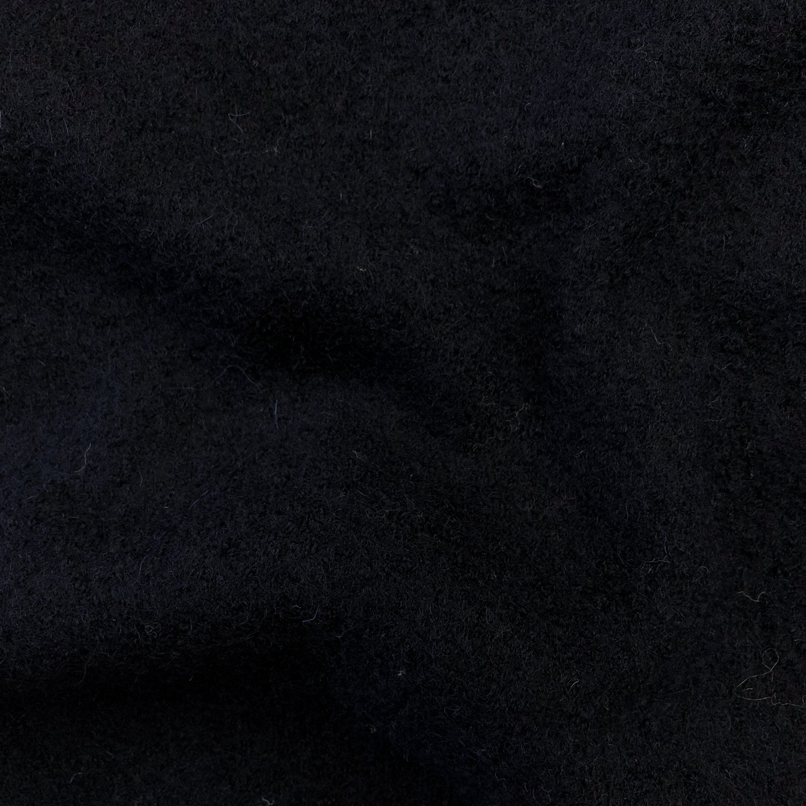 Boiled Wool - Navy