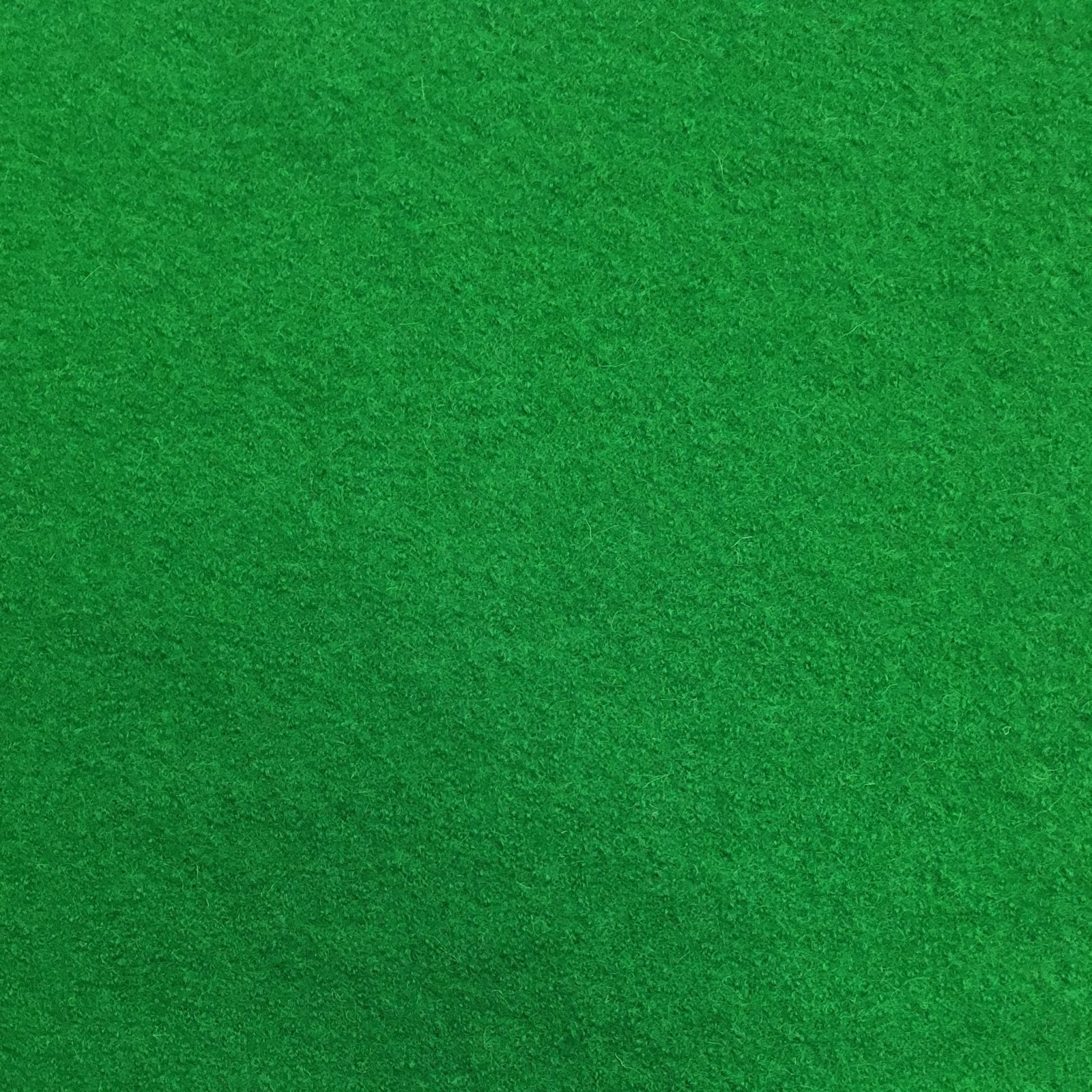 Boiled Wool - Kelly Green