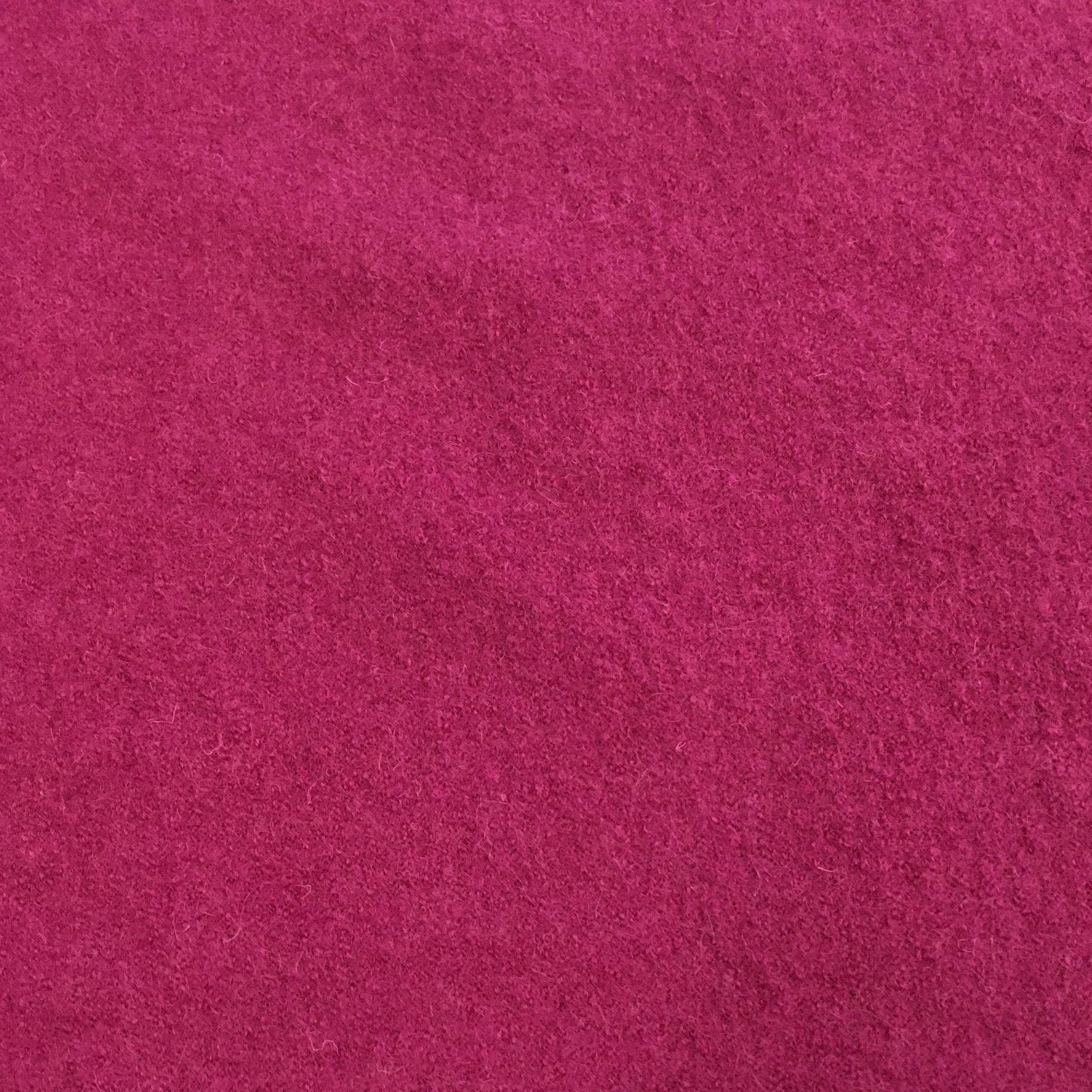 Boiled Wool - Fuchsia