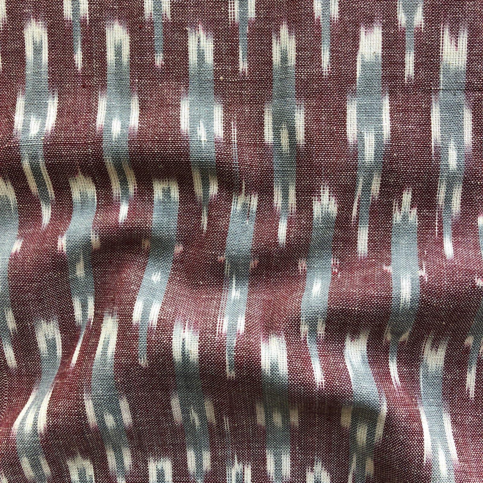 Ikat - Grey/Brick Arrows