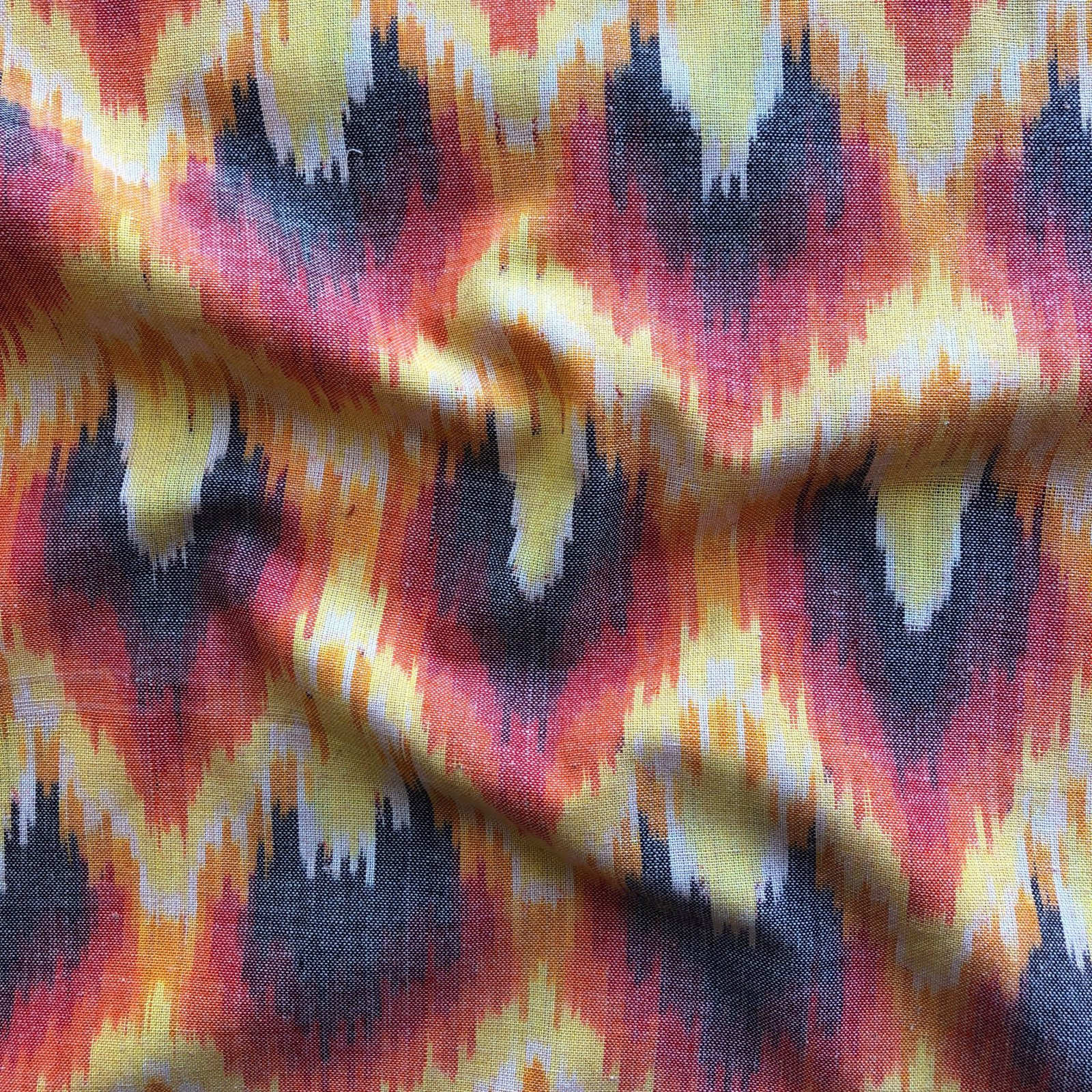 Ikat - Flaming Heart