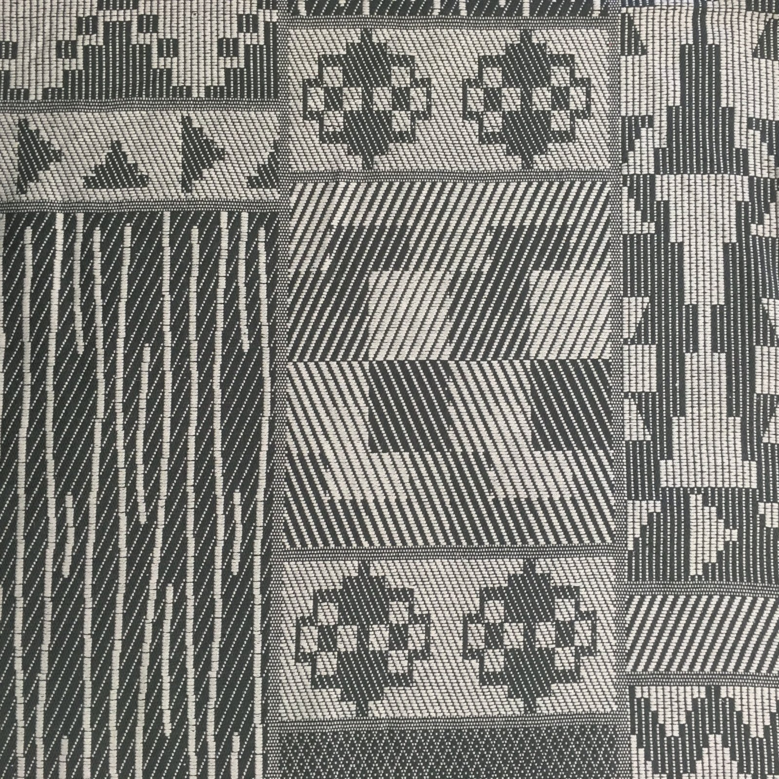 Indian Cotton Jacquard - Grey