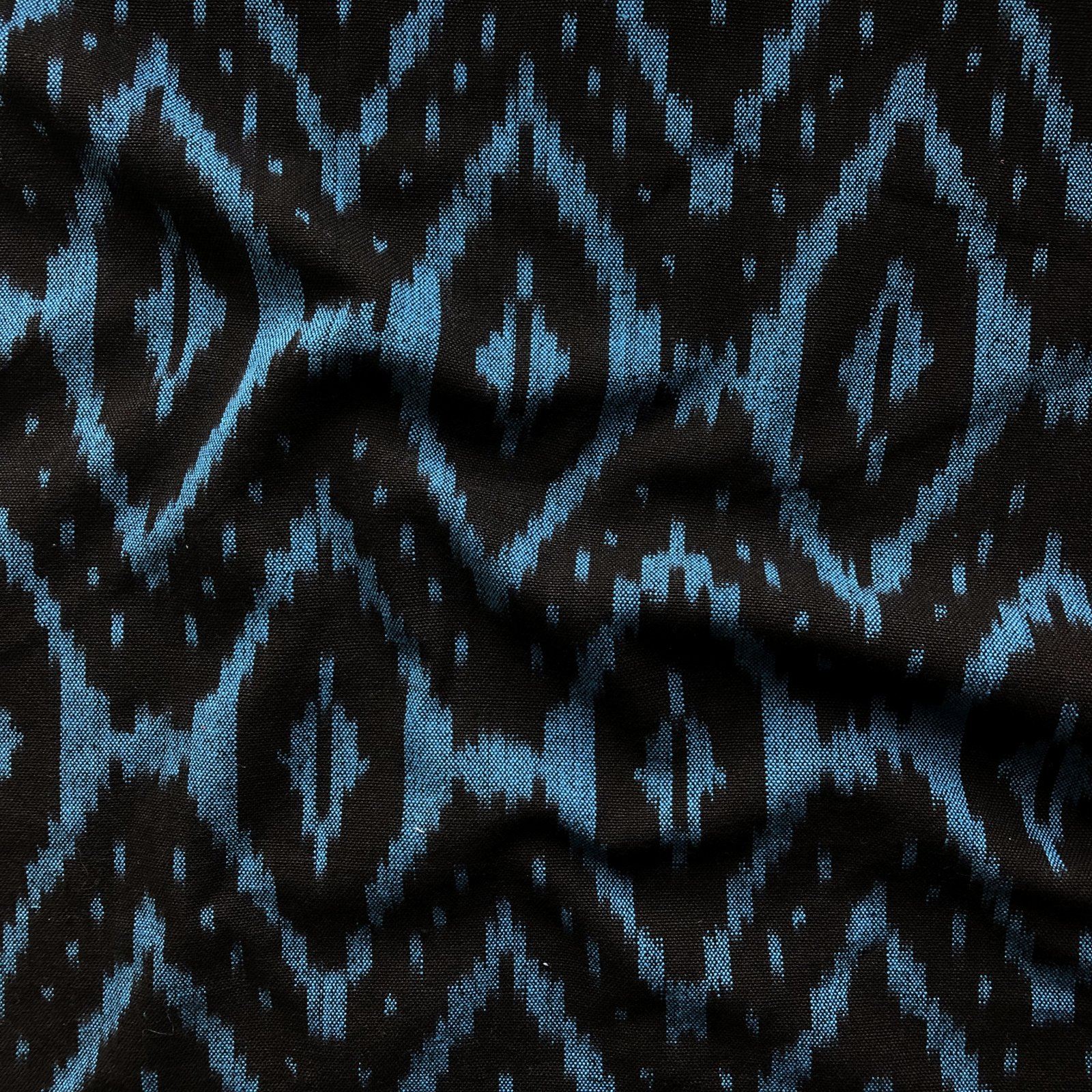 Ikat - Indigo/Black Diamond