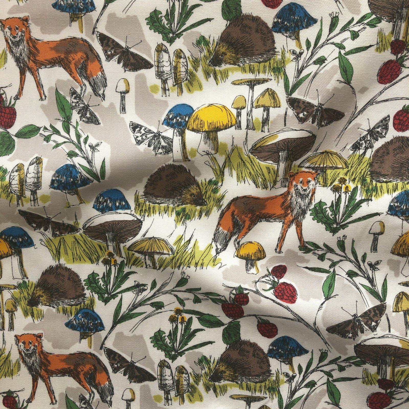 Hokkoh - Cotton Oxford - Woodland Creatures