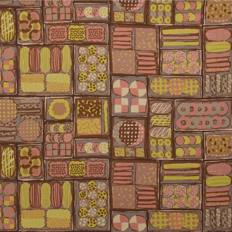 Basketweave Cotton/Linen - Cookie Box