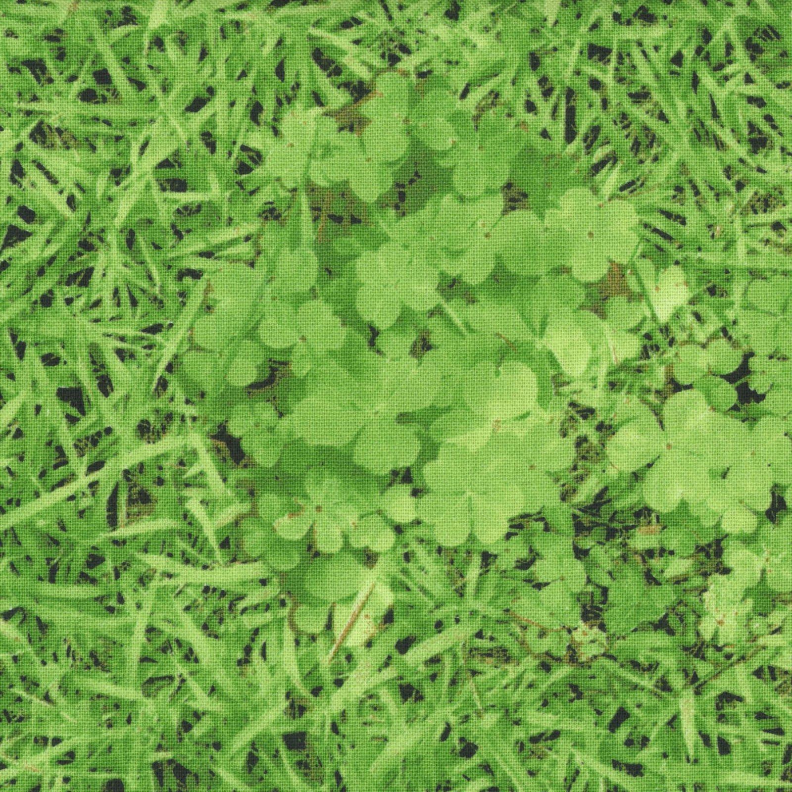 Kokka - Cotton Canvas - Grass