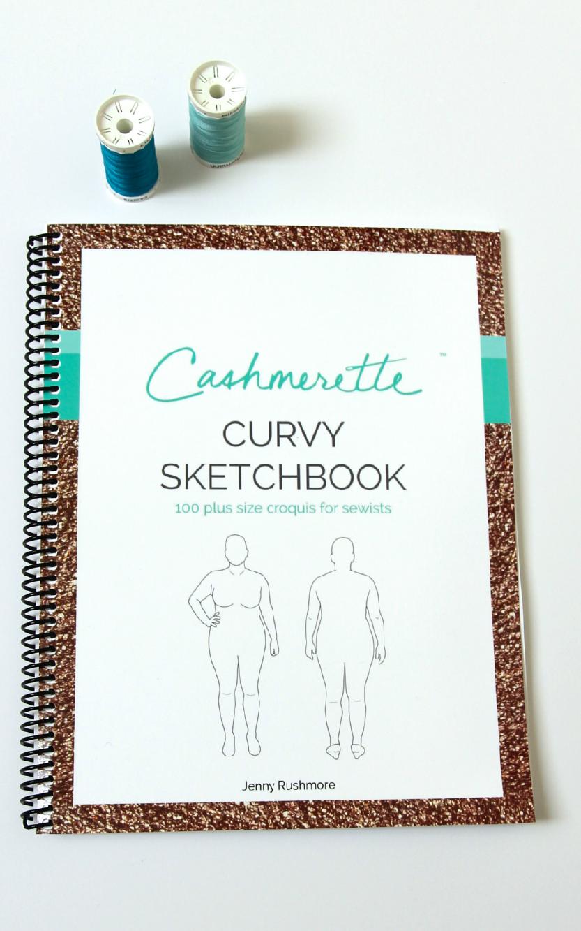 Curvy Sketchbook - Large