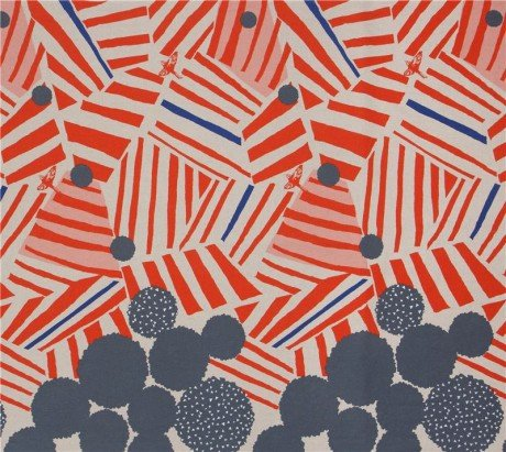 Echino - Cotton/Linen Canvas - Ray - Orange