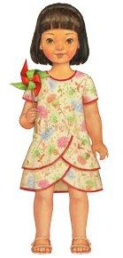 Pinwheel Tunic and Slip Dress