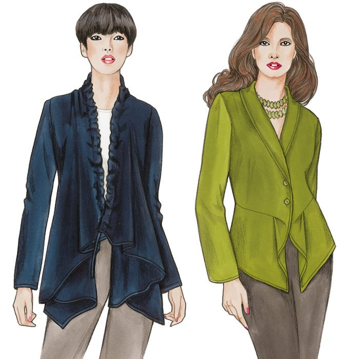 Pearl & Opal Jackets Pattern - Sewing Workshop