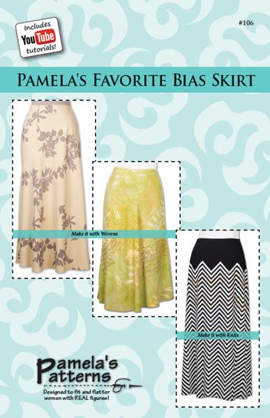 Pamela's Patterns 106 - Favorite Bias Skirt