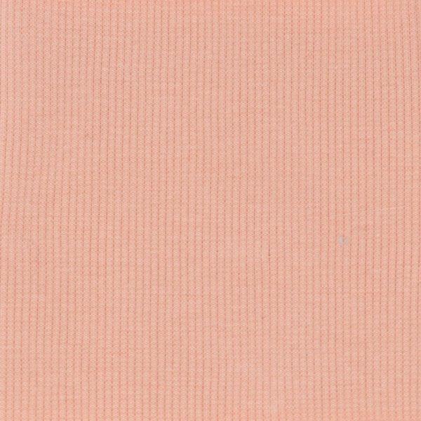 Birch Fabrics - Organic Rib Knit - Quince Blossom