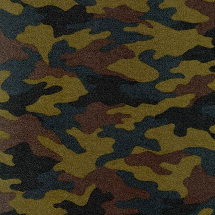 Camouflage Flannel - Olive