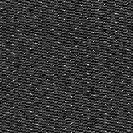 Denim Dot - Black