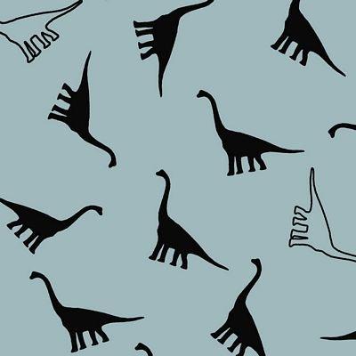 Cotton Sweatshirt Fleece - Dinosaurs
