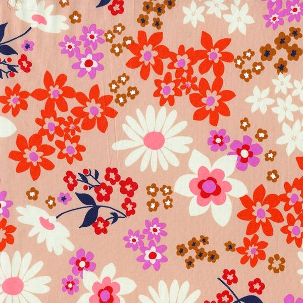 Vintage Floral by Melody Miller - Pink