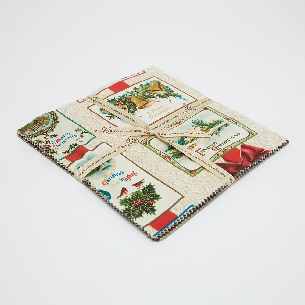 Joyous Christmas Fat Quarter Bundle (15 Pcs)