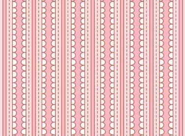 Basically Hugs 4486-24112 Pink Stripe