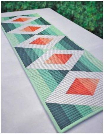 Aztec Diamond Table Runner Pattern