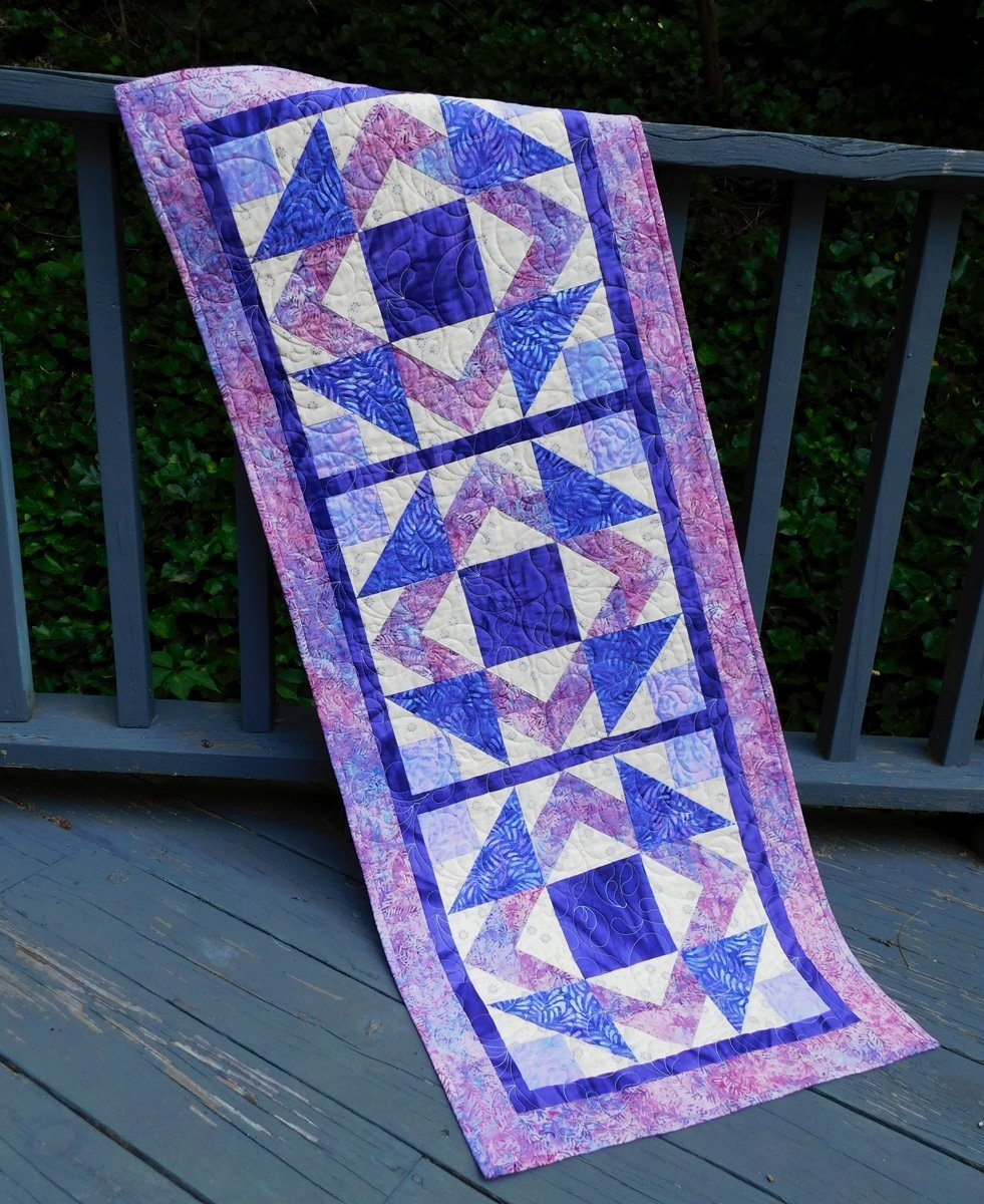Cut Loose Press: Illusionary Runner Pattern