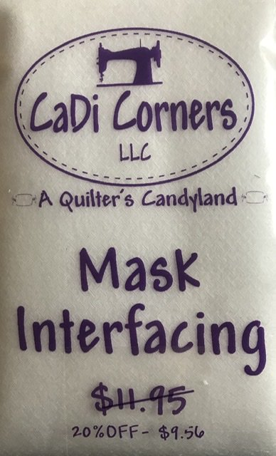 Mask Interfacing (5 yd.  Package)