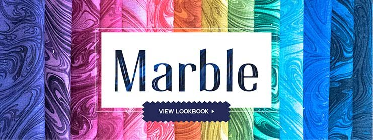 Marble 5 Squares (42 pc)
