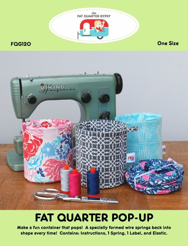 Small Fat Quarter Pop-Up Pattern & Spring