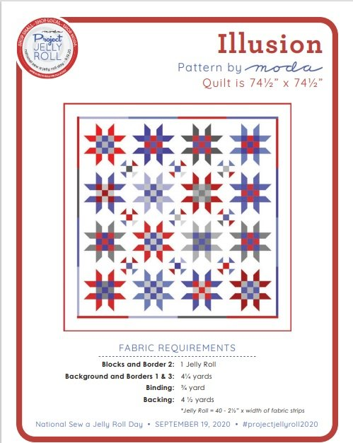 Illusion Pattern By Moda - Free Download