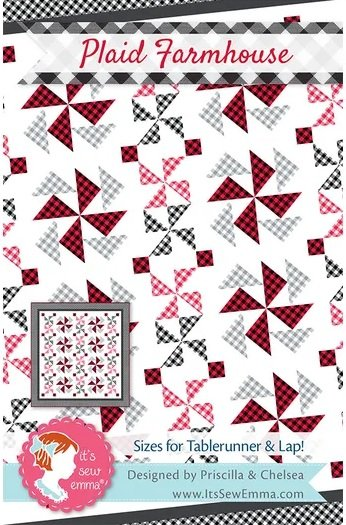 Plaid Farmhouse Lap Quilt Kit