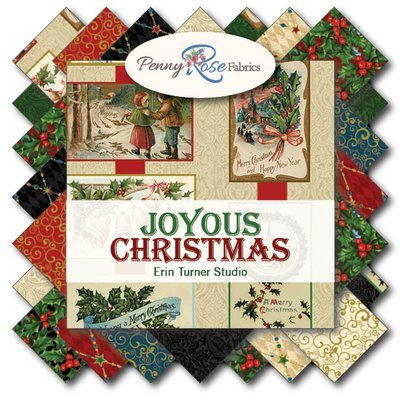 Joyous Christmas Jelly Roll