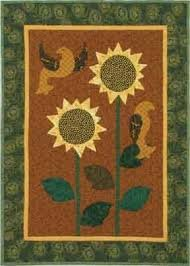 Sunbirds Wall Quilt Pattern